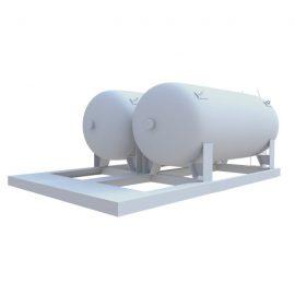 Газовая емкость - газгольдер и 10 м³